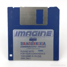 Videojuegos y Consolas: BAD DUDES VS. DRAGONNINJA IMAGINE SOFTWARE 1989 VIDEOJUEGO LUCHA CALLEJERA COMMODORE AMIGA DISKETTE. Lote 227649135