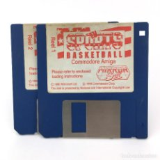 Videojuegos y Consolas: TV SPORTS BASKETBALL MIRRORSOFT CINEMAWARE ANTIGUO JUEGO DEPORTE BALONCESTO COMMODORE AMIGA DISKETTE. Lote 227649170