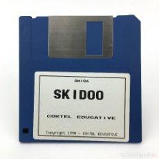 Videojuegos y Consolas: SKIDOO COKTEL EDUCATIVE 1990 VIDEOJUEGO ANTIGUO JUEGO VINTAGE ORDENADOR 500 COMMODORE AMIGA DISKETTE. Lote 227649190