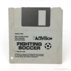Videojuegos y Consolas: FIGHTING SOCCER ACTIVISION SNK CORP 1988 FUTBOL CALCIO VIDEOJUEGO ORDENADOR COMMODORE AMIGA DISKETTE. Lote 227649214
