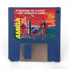 Videojuegos y Consolas: ARCHIPIELAGOS LOGOTRON JUEGO CLASICO 3D VIDEOJUEGO VINTAGE RAREZA COMMODORE AMIGA FORMAT DISKETTE. Lote 227649250