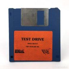 Videojuegos y Consolas: TEST DRIVE DRO SOFT ACCOLADE 1987 JUEGO CARRERAS COCHES VIDEOJUEGO VINTAGE COMMODORE AMIGA DISKETTE. Lote 227649260