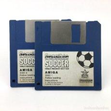 Videojuegos y Consolas: SENSIBLE SOCCER 1992 1993 SEASON EDITION / SOFTWARE VIDEOJUEGO FUTBOL JUEGO COMMODORE AMIGA DISKETTE. Lote 227649270