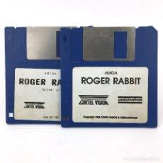 Videojuegos y Consolas: ROGER RABBIT COKTEL VISION CEDIC NATHAN VIDEOJUEGO VINTAGE DE DIBUJOS JUEGO COMMODORE AMIGA DISKETTE. Lote 227649300