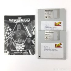 Videojuegos y Consolas: WWF WORLD WRESTLE MANIA ERBE 1991 PRESSING CATCH HULK HOGAN WRESTLEMANIA COMMODORE AMIGA DISKETTE 3½. Lote 227772510