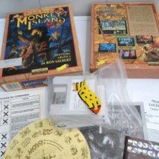 Jeux Vidéo et Consoles: MONKEY ISLAND 2 - JUEGO AMIGA COMPLETO - LUCASARTS 1992 - MUY RARO. Lote 229029245