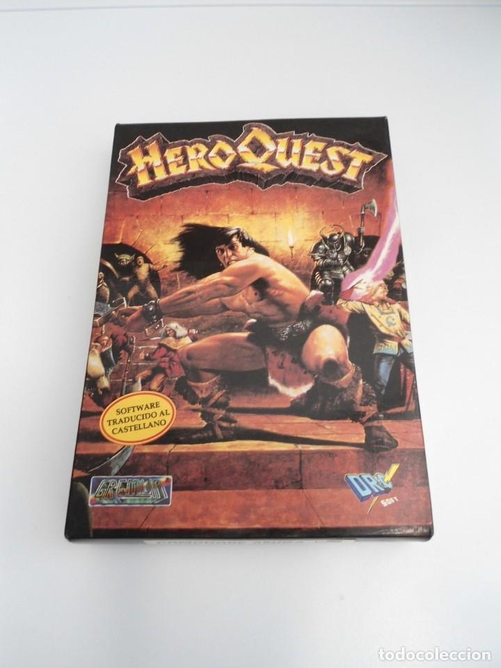 Videojuegos y Consolas: HEROQUEST HERO QUEST - JUEGO AMIGA COMPLETO - GREMBLIN GRAPH. DROSOFT 1991 - RARO - Foto 2 - 229052260