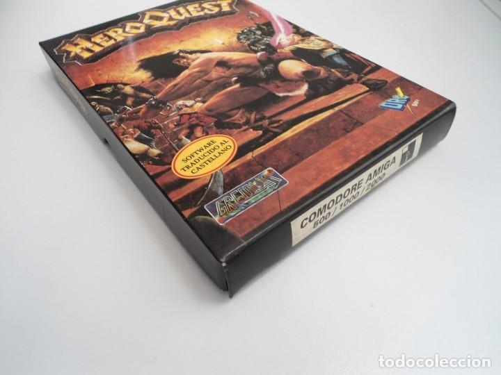 Videojuegos y Consolas: HEROQUEST HERO QUEST - JUEGO AMIGA COMPLETO - GREMBLIN GRAPH. DROSOFT 1991 - RARO - Foto 4 - 229052260