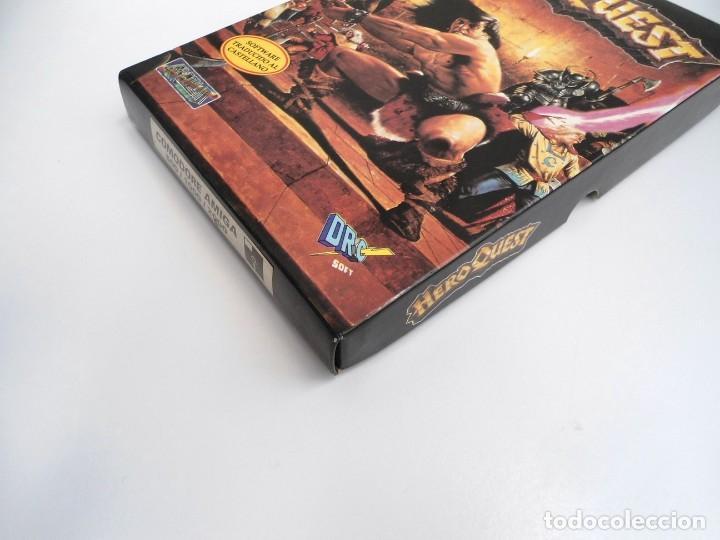 Videojuegos y Consolas: HEROQUEST HERO QUEST - JUEGO AMIGA COMPLETO - GREMBLIN GRAPH. DROSOFT 1991 - RARO - Foto 5 - 229052260