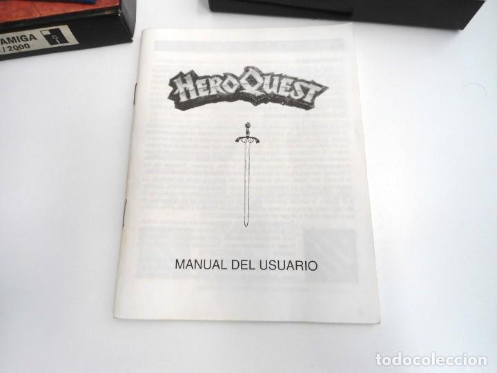 Videojuegos y Consolas: HEROQUEST HERO QUEST - JUEGO AMIGA COMPLETO - GREMBLIN GRAPH. DROSOFT 1991 - RARO - Foto 10 - 229052260