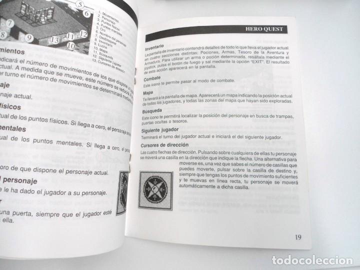 Videojuegos y Consolas: HEROQUEST HERO QUEST - JUEGO AMIGA COMPLETO - GREMBLIN GRAPH. DROSOFT 1991 - RARO - Foto 11 - 229052260