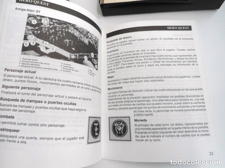 Videojuegos y Consolas: HEROQUEST HERO QUEST - JUEGO AMIGA COMPLETO - GREMBLIN GRAPH. DROSOFT 1991 - RARO - Foto 13 - 229052260