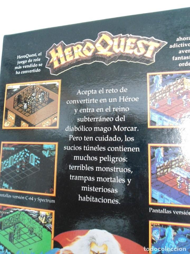 Videojuegos y Consolas: HEROQUEST HERO QUEST - JUEGO AMIGA COMPLETO - GREMBLIN GRAPH. DROSOFT 1991 - RARO - Foto 16 - 229052260