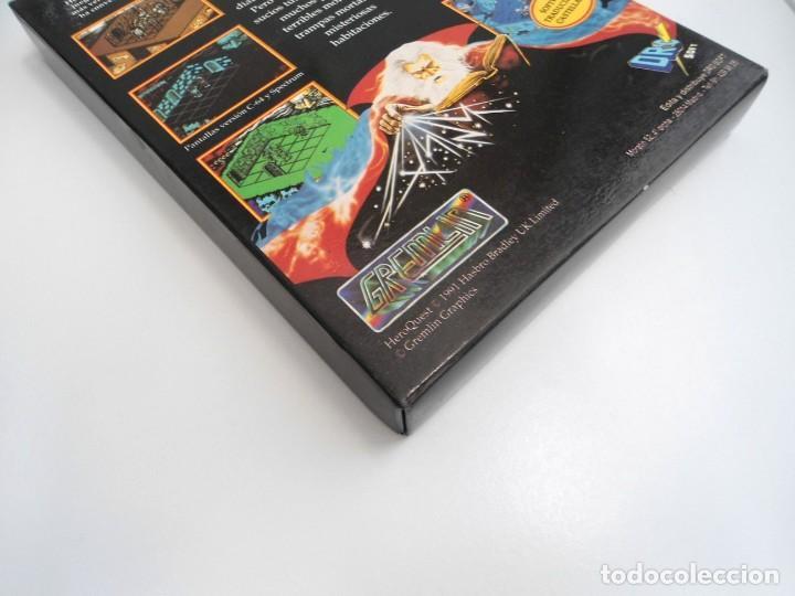 Videojuegos y Consolas: HEROQUEST HERO QUEST - JUEGO AMIGA COMPLETO - GREMBLIN GRAPH. DROSOFT 1991 - RARO - Foto 17 - 229052260