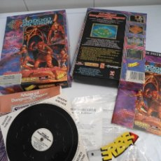 Videojuegos y Consolas: SHADOW SORCERER ADVANCED DUNGEONS & DRAGONS D&D - JUEGO AMIGA COMPLETO CON LIBRO PISTAS - MUY RARO. Lote 229060490