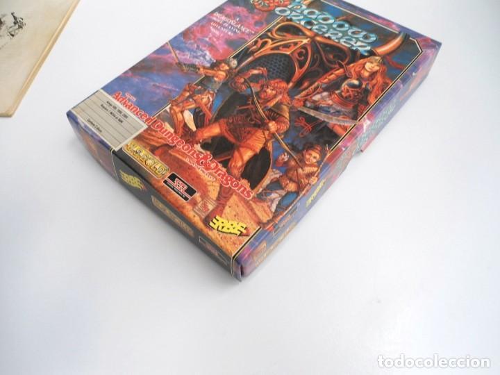 Videojuegos y Consolas: SHADOW SORCERER ADVANCED DUNGEONS & DRAGONS D&D - JUEGO AMIGA COMPLETO CON LIBRO PISTAS - MUY RARO - Foto 3 - 229060490