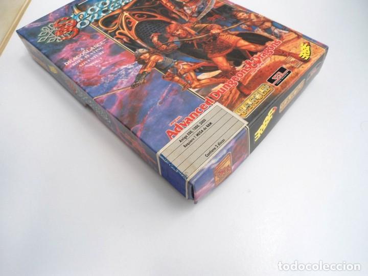 Videojuegos y Consolas: SHADOW SORCERER ADVANCED DUNGEONS & DRAGONS D&D - JUEGO AMIGA COMPLETO CON LIBRO PISTAS - MUY RARO - Foto 5 - 229060490