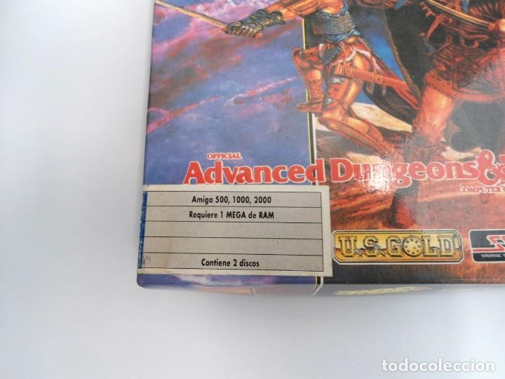 Videojuegos y Consolas: SHADOW SORCERER ADVANCED DUNGEONS & DRAGONS D&D - JUEGO AMIGA COMPLETO CON LIBRO PISTAS - MUY RARO - Foto 7 - 229060490