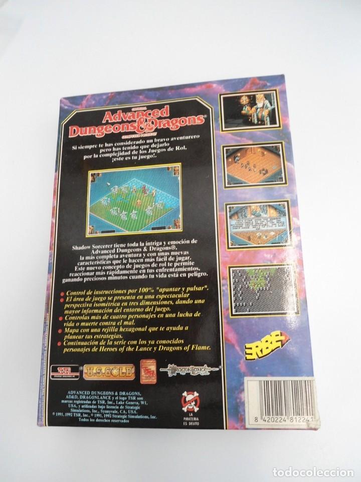 Videojuegos y Consolas: SHADOW SORCERER ADVANCED DUNGEONS & DRAGONS D&D - JUEGO AMIGA COMPLETO CON LIBRO PISTAS - MUY RARO - Foto 8 - 229060490