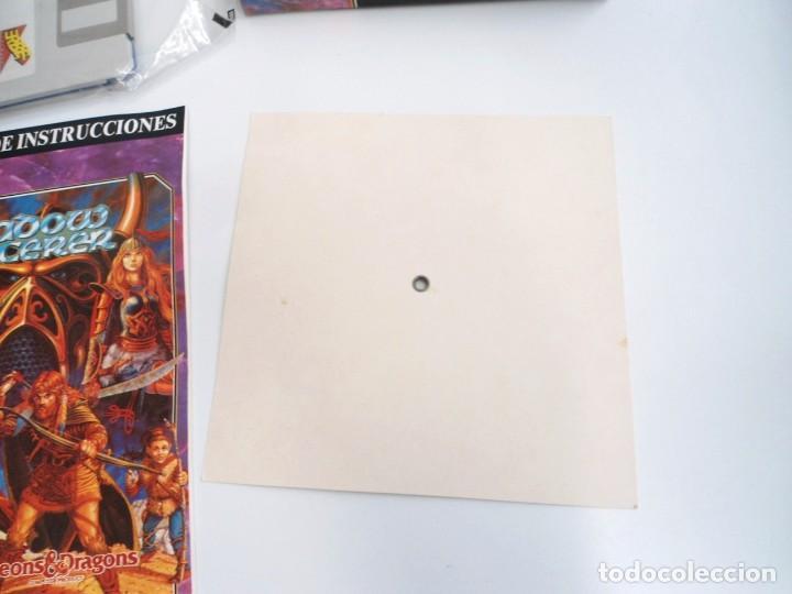 Videojuegos y Consolas: SHADOW SORCERER ADVANCED DUNGEONS & DRAGONS D&D - JUEGO AMIGA COMPLETO CON LIBRO PISTAS - MUY RARO - Foto 14 - 229060490