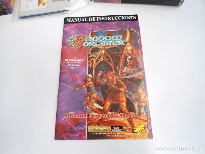 Videojuegos y Consolas: SHADOW SORCERER ADVANCED DUNGEONS & DRAGONS D&D - JUEGO AMIGA COMPLETO CON LIBRO PISTAS - MUY RARO - Foto 15 - 229060490