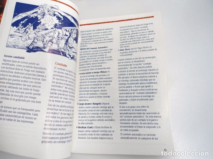 Videojuegos y Consolas: SHADOW SORCERER ADVANCED DUNGEONS & DRAGONS D&D - JUEGO AMIGA COMPLETO CON LIBRO PISTAS - MUY RARO - Foto 23 - 229060490