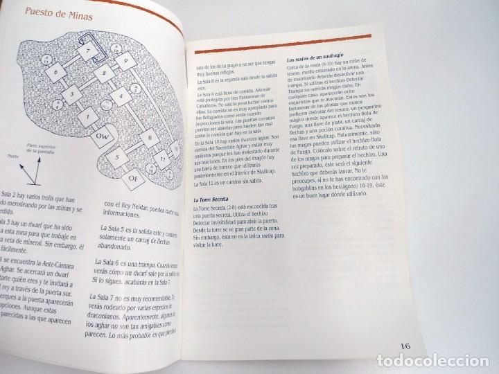 Videojuegos y Consolas: SHADOW SORCERER ADVANCED DUNGEONS & DRAGONS D&D - JUEGO AMIGA COMPLETO CON LIBRO PISTAS - MUY RARO - Foto 24 - 229060490