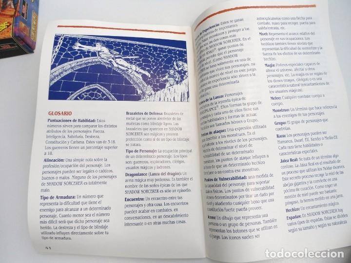 Videojuegos y Consolas: SHADOW SORCERER ADVANCED DUNGEONS & DRAGONS D&D - JUEGO AMIGA COMPLETO CON LIBRO PISTAS - MUY RARO - Foto 27 - 229060490