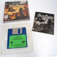 Videojuegos y Consolas: STORM MASTER - JUEGO AMIGA COMPLETO - SILMARILS PROEIN SOFT LINE 1991 - RARO. Lote 229063465