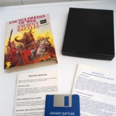 Videojuegos y Consolas: ENCYCLOPEDIA OF WAR ANCIENT BATTLES - JUEGO AMIGA COMPLETO - CASES COMPUTER S. SYSTEM 4 1988 - RARO. Lote 229066465
