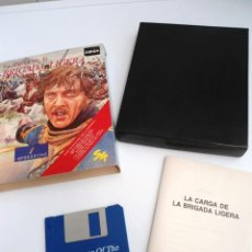Videojuegos y Consolas: LA CARGA DE LA BRIGADA LIGERA - JUEGO AMIGA COMPLETO - IMPRESSIONS SYSTEM 4 1991 - RARO. Lote 229068095