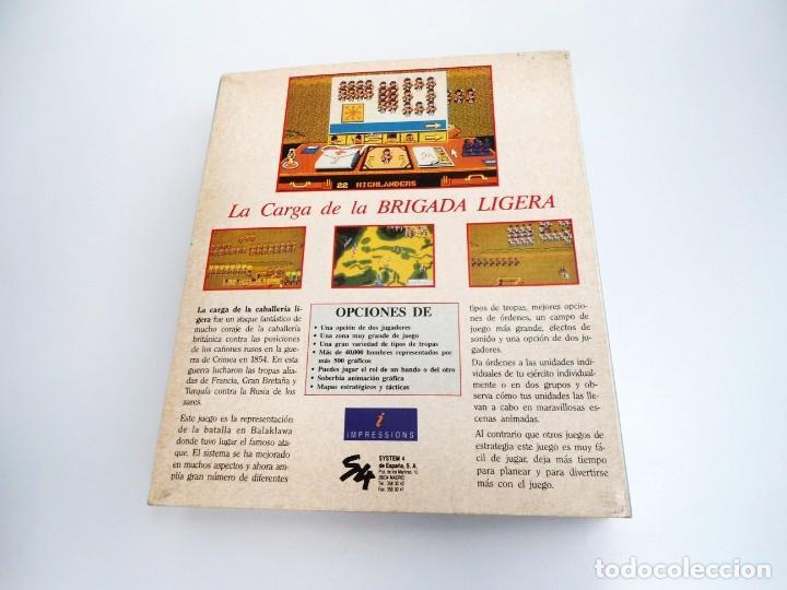 Videojuegos y Consolas: LA CARGA DE LA BRIGADA LIGERA - JUEGO AMIGA COMPLETO - IMPRESSIONS SYSTEM 4 1991 - RARO - Foto 4 - 229068095