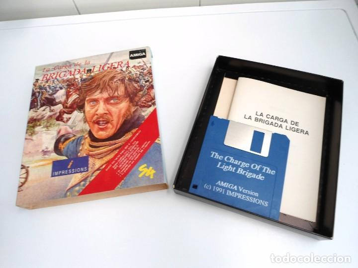 Videojuegos y Consolas: LA CARGA DE LA BRIGADA LIGERA - JUEGO AMIGA COMPLETO - IMPRESSIONS SYSTEM 4 1991 - RARO - Foto 5 - 229068095