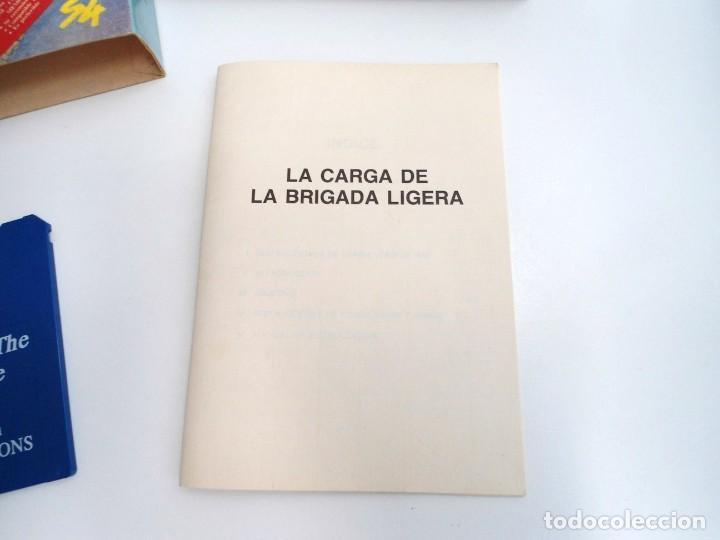 Videojuegos y Consolas: LA CARGA DE LA BRIGADA LIGERA - JUEGO AMIGA COMPLETO - IMPRESSIONS SYSTEM 4 1991 - RARO - Foto 8 - 229068095