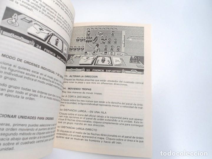 Videojuegos y Consolas: LA CARGA DE LA BRIGADA LIGERA - JUEGO AMIGA COMPLETO - IMPRESSIONS SYSTEM 4 1991 - RARO - Foto 10 - 229068095