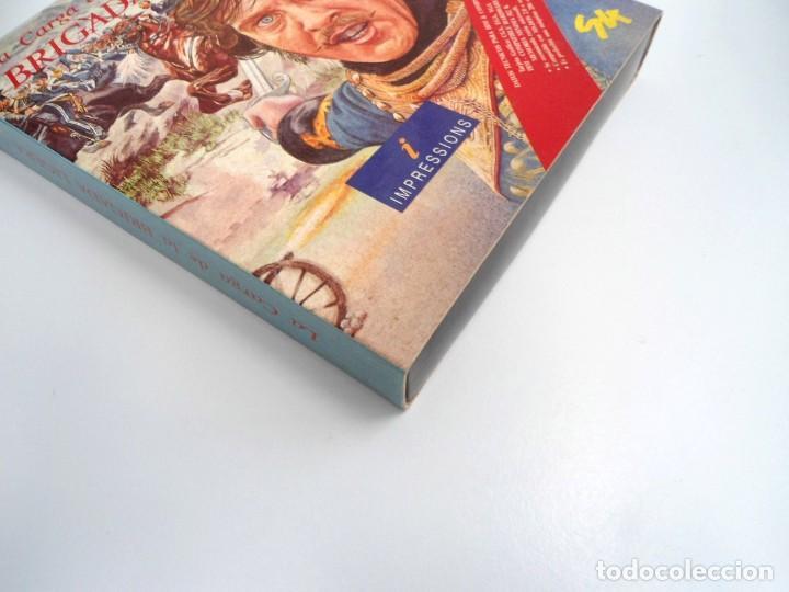 Videojuegos y Consolas: LA CARGA DE LA BRIGADA LIGERA - JUEGO AMIGA COMPLETO - IMPRESSIONS SYSTEM 4 1991 - RARO - Foto 12 - 229068095