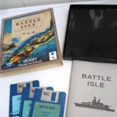 Videojuegos y Consolas: BATTLE ISLE - JUEGO AMIGA COMPLETO - UBI SOFT DRO SOFT 1992 - RARO. Lote 229069813