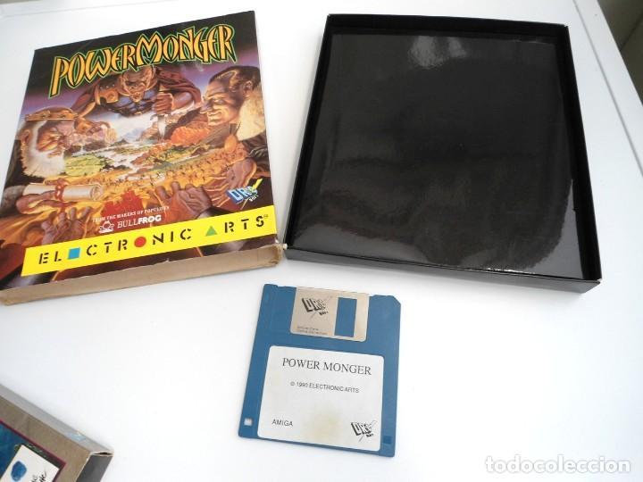 POWER MONGER - JUEGO AMIGA - ELECTRONIC ARTS DRO SOFT 1990 (Juguetes - Videojuegos y Consolas - Amiga)