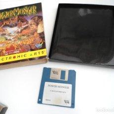 Videojuegos y Consolas: POWER MONGER - JUEGO AMIGA - ELECTRONIC ARTS DRO SOFT 1990. Lote 229071030
