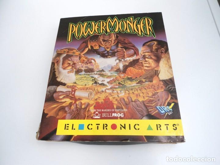 Videojuegos y Consolas: POWER MONGER - JUEGO AMIGA - ELECTRONIC ARTS DRO SOFT 1990 - Foto 2 - 229071030