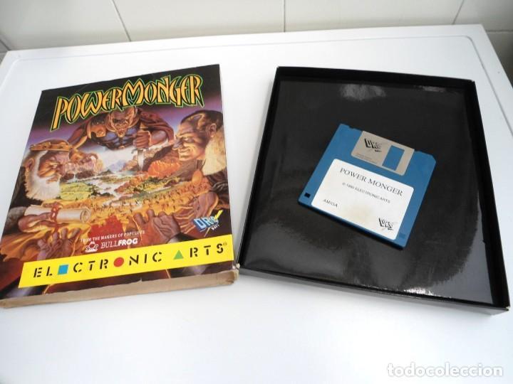 Videojuegos y Consolas: POWER MONGER - JUEGO AMIGA - ELECTRONIC ARTS DRO SOFT 1990 - Foto 3 - 229071030