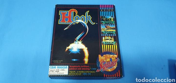 HOOK - THE SQUAD - CBM AMIGA - DISK 1/2/3 Y 4 (Juguetes - Videojuegos y Consolas - Amiga)