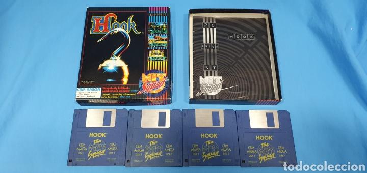 Videojuegos y Consolas: HOOK - THE SQUAD - CBM AMIGA - DISK 1/2/3 y 4 - Foto 2 - 229310900