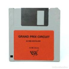 Videojuegos y Consolas: GRAND PRIX CIRCUIT CARRERAS MOTOS DRO SOFT ESPAÑA ACCOLADE 1990 MOTORCYCLE DISKETTE COMMODORE AMIGA. Lote 229314148