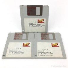 Videojuegos y Consolas: LOOM ERBE ESPAÑA LUCASFILM GAMES 1990 AVENTURA GRAFICA INDIANA MONKEY RARO COMMODORE AMIGA DISKETTE. Lote 229319290