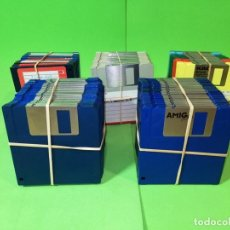 Videojuegos y Consolas: DISQUETES 3,5 DS/DD (AMIGA, ATARI, TECLADOS). Lote 251673685