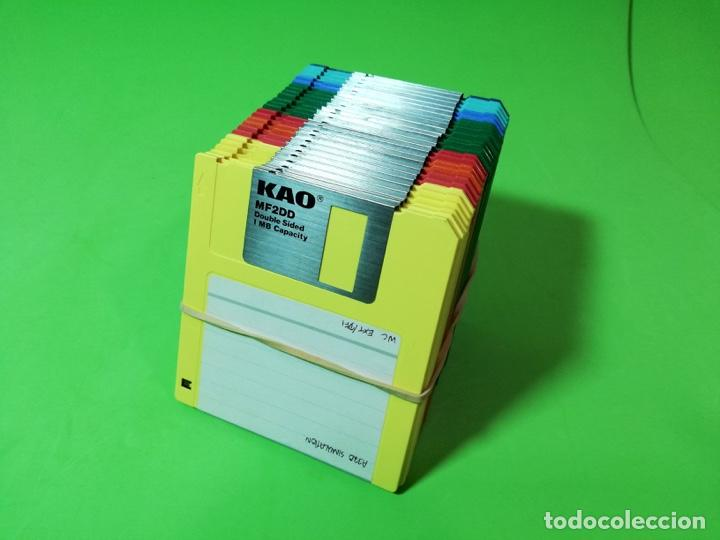 Videojuegos y Consolas: DISQUETES 3,5 DS/DD (Amiga, Atari, Teclados) - Foto 2 - 251673685