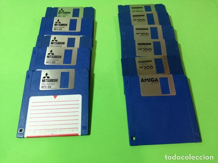 Videojuegos y Consolas: DISQUETES 3,5 DS/DD (Amiga, Atari, Teclados) - Foto 4 - 251673685