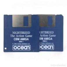 Videojuegos y Consolas: NIGHTBREED / RAZAS DE NOCHE / OCEAN SOFTWARE 1990 DISK JUEGO VINTAGE DISKETTE 3½ CBM COMMODORE AMIGA. Lote 230413765
