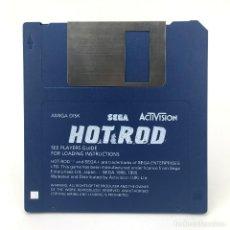 Videojuegos y Consolas: HOT ROD. SEGA / ACTIVISION 1990 DISK JUEGO DE CARRERAS ARCADE COCHES DISKETTE 3½ CBM COMMODORE AMIGA. Lote 230414445